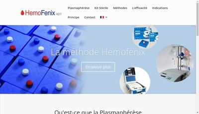 Site internet de Hemofenix Adt