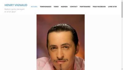 Site internet de Henry Vignaud