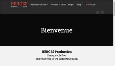 Site internet de Tv Izard, Esprit des Pyrenees, Entree Sortie Production
