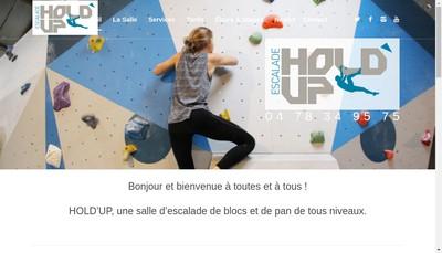 Site internet de Hold'Up Escalade