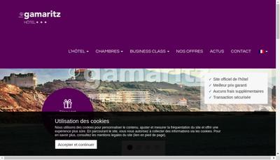 Site internet de Le Gamaritz