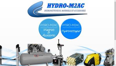 Site internet de Hydro-M2Ac