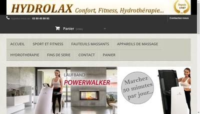 Site internet de Hydrolax