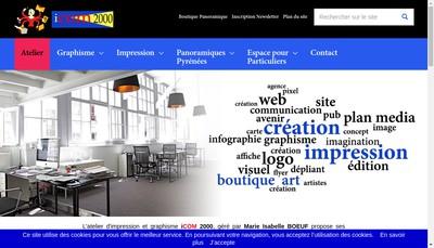 Site internet de Icom2000