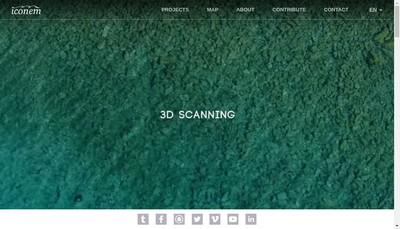 Site internet de Iconem