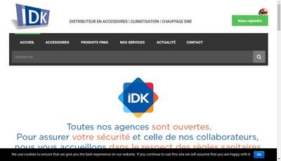 Site internet de IDK