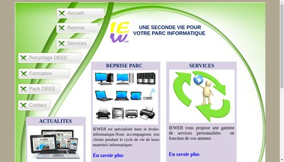 Site internet de Ieweb