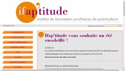 Site internet de Ifap'Titude