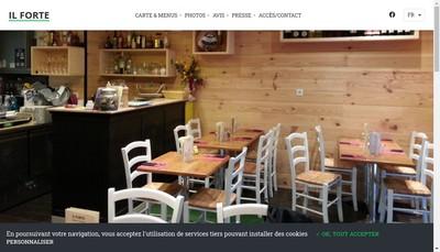 Site internet de Il Forte