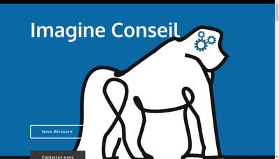 Site internet de Imagine Conseil