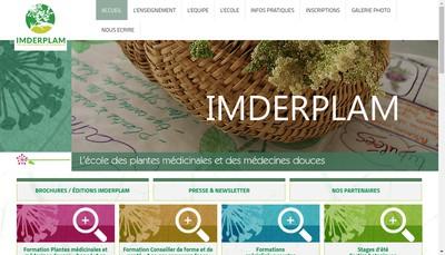 Site internet de Imderplam