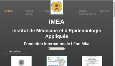 Site internet de Imea Consulting