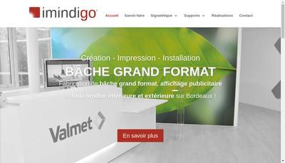 Site internet de Imindigo Consulting