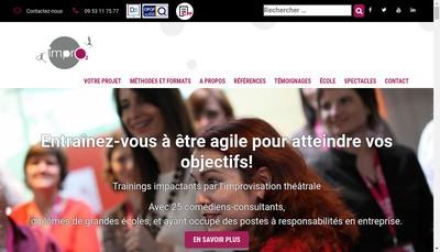 Site internet de Impro2
