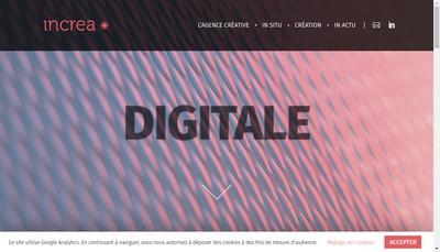 Site internet de In Crea