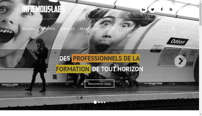 Site internet de Local Labs