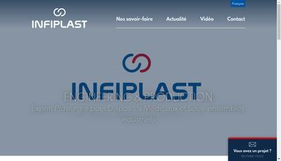 Site internet de Infiplast
