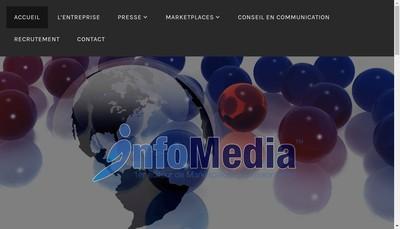 Site internet de Info Media Publishing