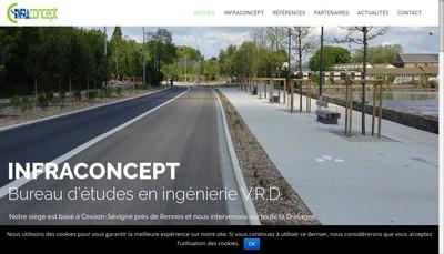 Site internet de Infraconcept