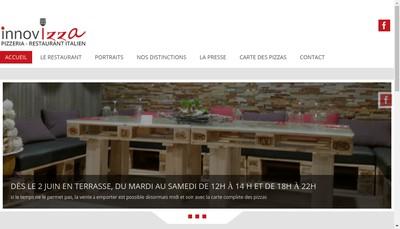 Site internet de L'Atelier des Pates