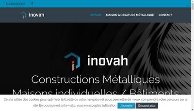 Site internet de Inovah Structures