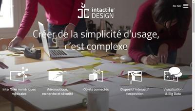 Site internet de Intactile