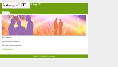 Site internet de Integr-It