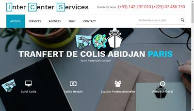 Site internet de Inter Center Services