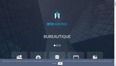 Site internet de Inter Numerique