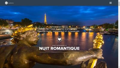 Site internet de Intertourisme