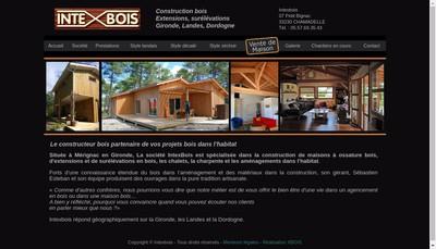 Site internet de Intexbois