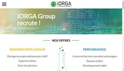 Site internet de Iorga Group