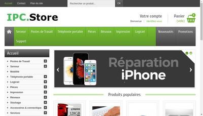 Site internet de Ipcstore