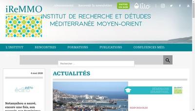 Site internet de Iremmo Conseil