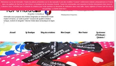 Site internet de Isamade