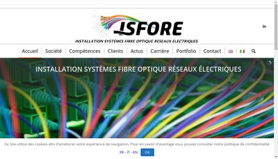 Site internet de Isfore