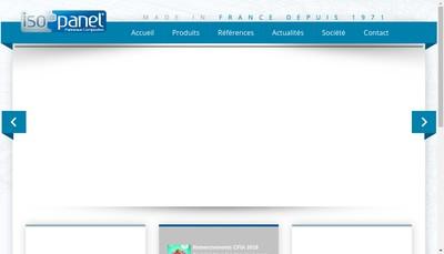 Site internet de Isopanel