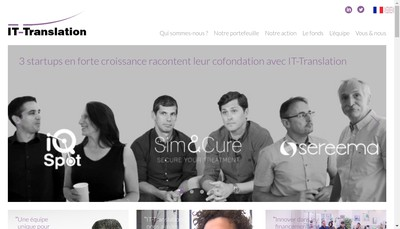 Site internet de It-Translation
