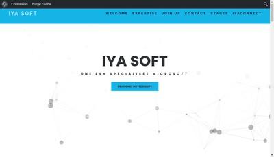 Site internet de Iya Soft