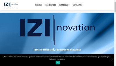 Site internet de Izinovation