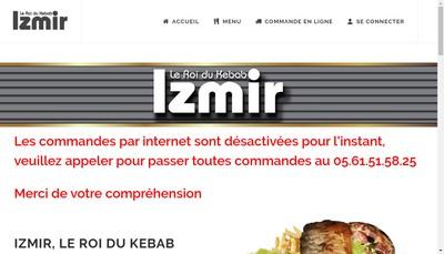 Site internet de Izmir le Roi du Kebab