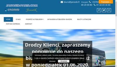 Site internet de Janosik
