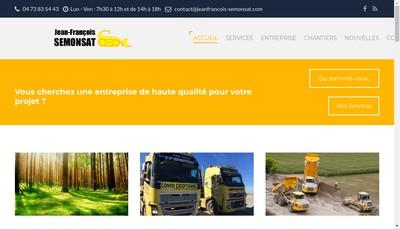 Site internet de Jean Francois Semonsat