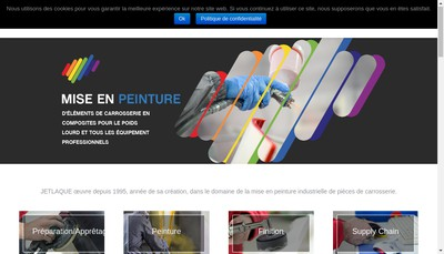 Site internet de Jetlaque