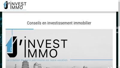 Site internet de J'Invest Immo