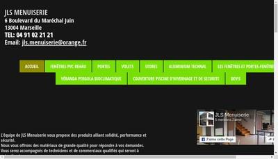 Site internet de Jls Menuiserie
