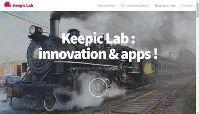 Site internet de Keepic