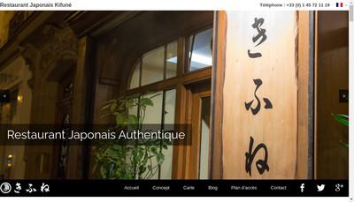 Site internet de Kifune