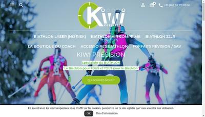 Site internet de Kiwi Precision