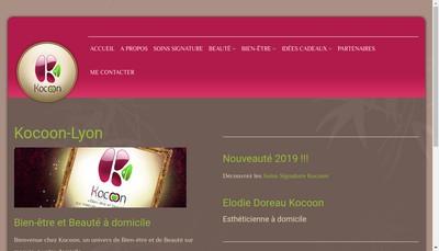 Site internet de Kocoon Lyon